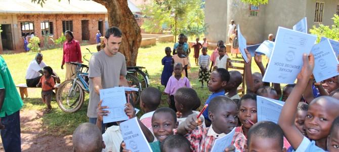 Visita de los voluntarios al proyecto
